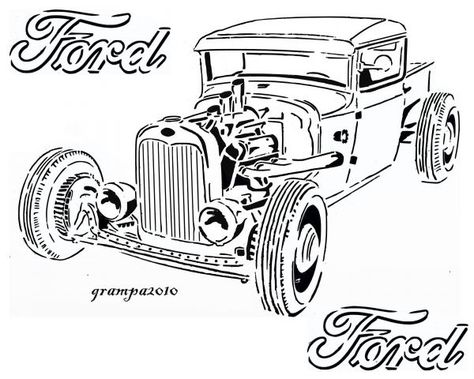 Ford Truck Rod