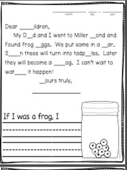 Morning Message Spring April First Grade   1st Grade Ideas