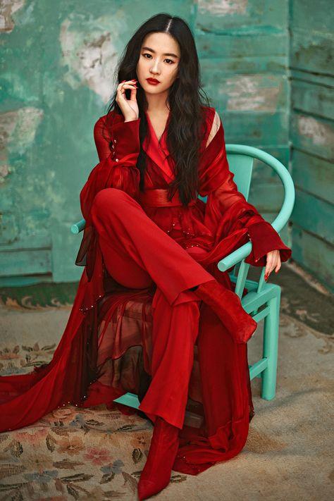 One-Woman Army: Yifei Liu talks fighting her own battles in <em>Mulan</em> Thai Style, Chinese Style, Chinese Fashion, Korean Fashion, Asian Woman, Asian Girl, Asian Ladies, Pixar, Ocean Drive