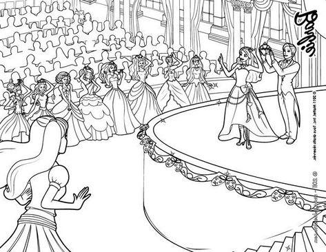 Dessins De Princesses A Imprimer Gratuitement Coloriagede In 2020
