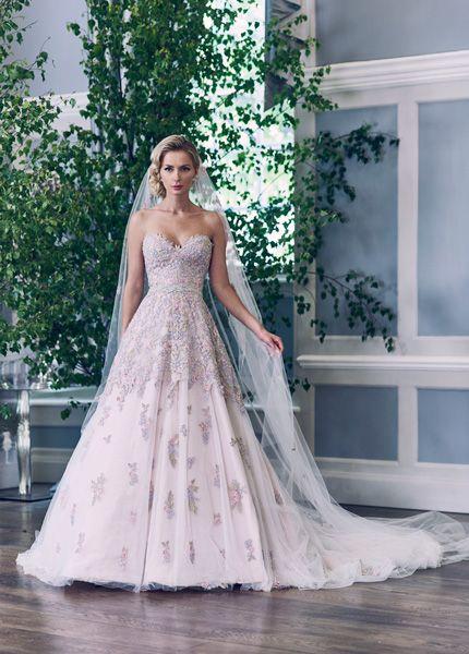 This Fairytale Romantic Wedding Dress By Ian Stuart Is A Dream