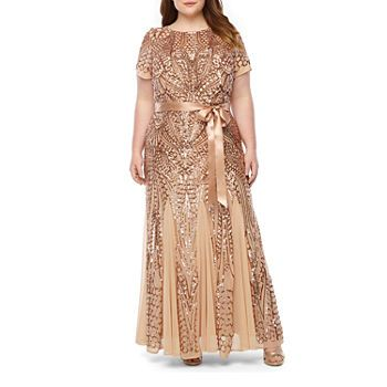 Women S Plus Size For Women Jcpenney Evening Gowns Evening Gowns With Sleeves Jcpenney Dresses