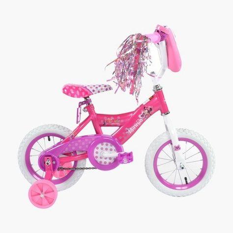 Huffy Disney Minnie Bike 12 Pink Kids Bike Pink Bike Bicycle Girl