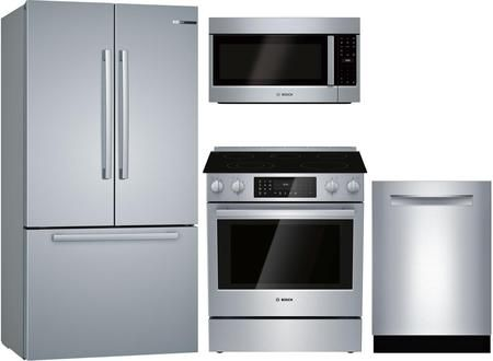 4 Piece Kitchen Liances Package With