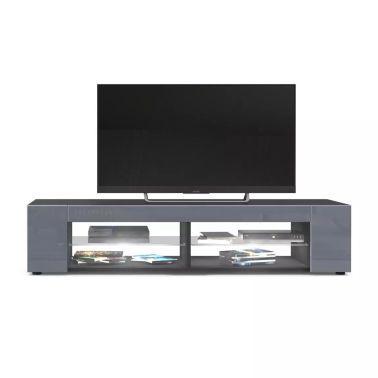 22 Meuble Tv Noir Mat In 2020 Celebrity Photos Flat Screen Flatscreen Tv
