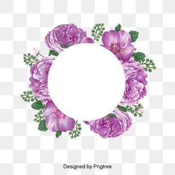 Flores Png Images Vetores E Arquivos Psd Download Gratis Em Pngtree Vector Flowers Watercolor Flower Wreath Pink Flowers Background