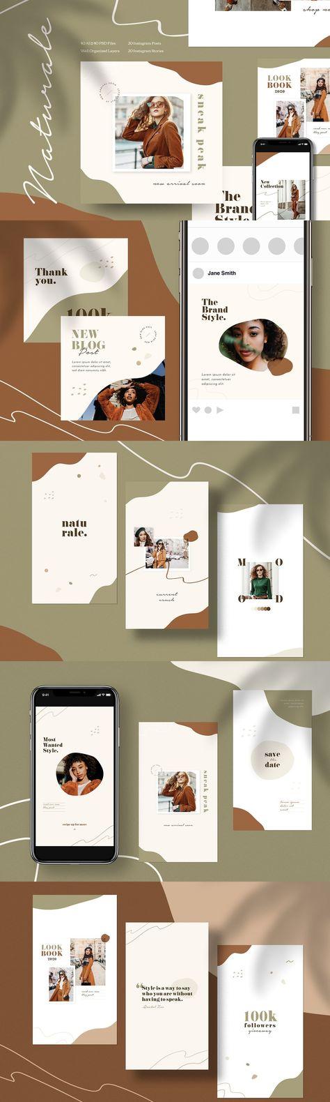 Naturalè - Instagram Stories & Post