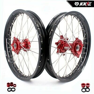 Kke 1 85 19 2 15 19 Dirt Bike Flat Track Wheels Rims For Honda Crf250r Crf450r Supermoto Wheels Wheel Rims Supermoto