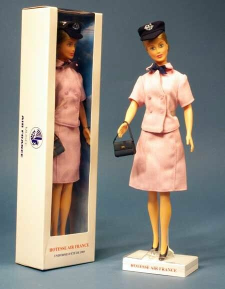 Air France Stewardess Doll To Be Collected Pinterest Air france - air france flight attendant sample resume