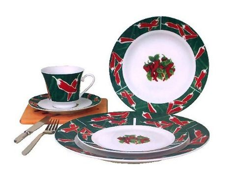 Chili Pepper Ceramic 20pc Dinnerware Set By Kmc Http Www Amazon