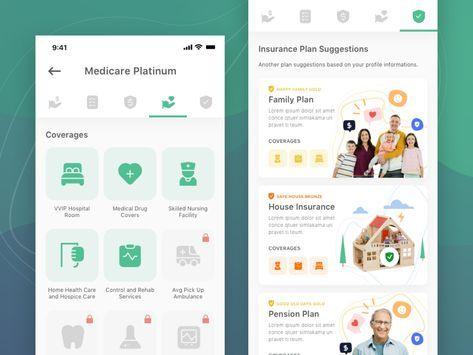 Thrifty Insurance App Desain