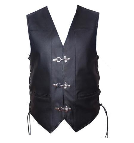 Australian Bikers Gear Harley style Motorcycle Premium Distressed Leather Vest