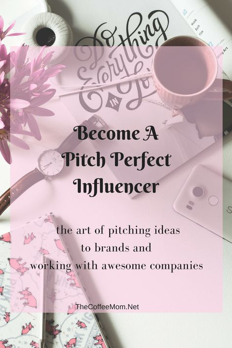 Influencer Marketing 101: The Perfect Pitch — The Coffee Mom