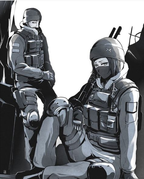Pin by Kit the poster on R6S is lit | Chibi, Rainbow 6