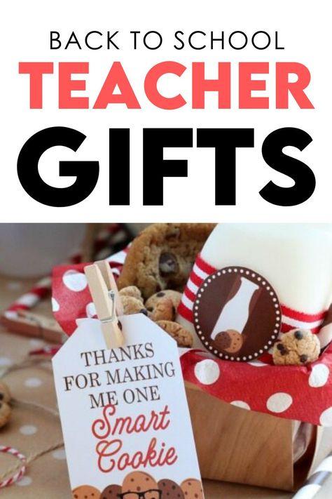 Easy but cute gift ideas for teachers