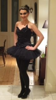 The black swan fancy dress costume