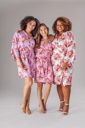 Floral Bridesmaid Robe in 2019  64073d9e7