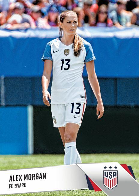 Forward Alex Morgan 13 Usa Soccer Women Womens Soccer Usa Soccer Team