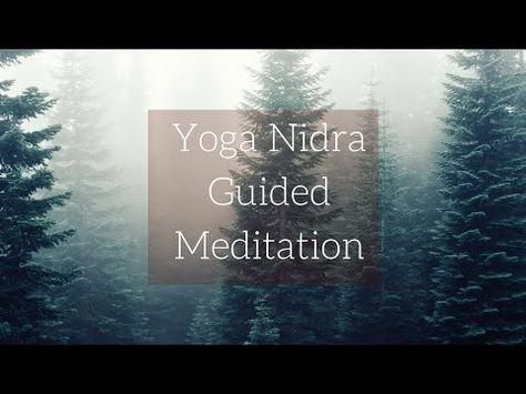 Yoga Nidra Guided Meditation - YouTube. I found this yoga nidra amazing!!! 30 minutes