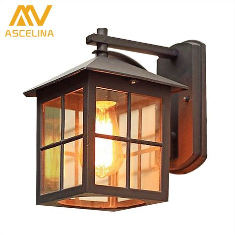 European Style Of The Ancient Wall Outdoor Lamp Waterproof