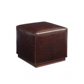 Colby Leather Ottoman Brown Tortoise Barclay Butera Ll5454 45 Leather Ottoman Barclay Butera Furniture Design