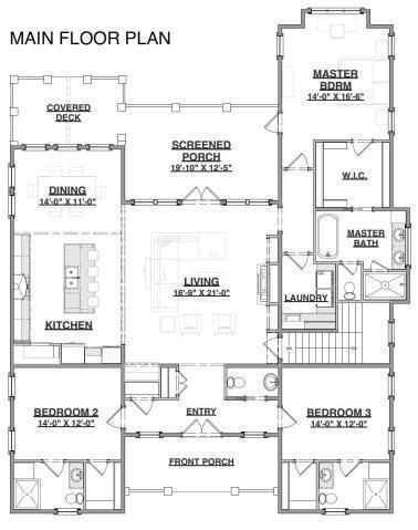 2862 Maritime Forest Dr Johns Island Sc 29455 4 Beds 3 5 Baths In 2020 Dream House Plans How To Plan House Plans