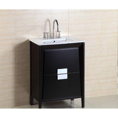 24 Single Sink Vanity Set Single Sink Bathroom Vanity Vanity