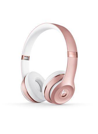 Beats Solo 3 Wireless Headphones Walmart Canada Rose Gold Beats Headphones Beats Headphones Wireless Girl With Headphones