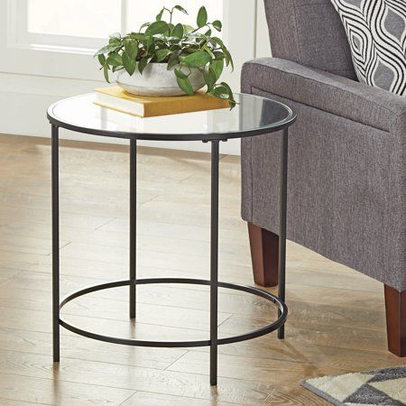 Better Homes Gardens Nola Side Table Multiple Finishes Walmart Com Side Table Luxury Home Furniture Home Decor