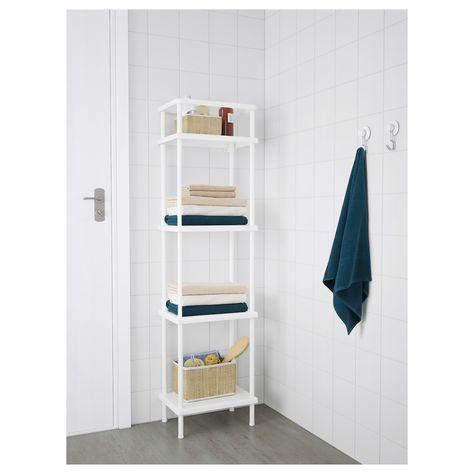 """DYNAN Shelf unit, white, 15 3/4x10 5/8x58 1/4"""" - IKEA"""