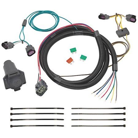 08 12 Enclave 09 12 Traverse 7way Tow Harness Wiring Package Replacement Auto Part Easy To Install Walmart Com In 2020 Towing Automotive Repair Car Parts