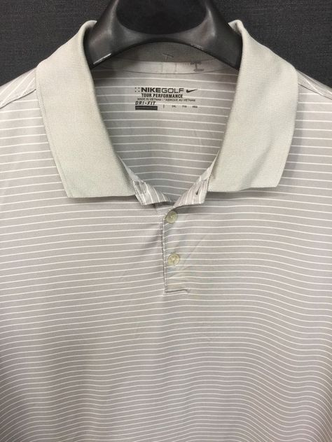 Roundtree /& Yorke Trademark White Pique 2 Button L//S Collar Polo Shirt XLG NWT