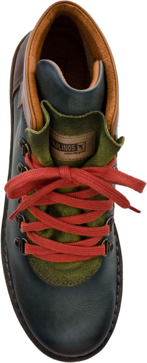 Pikolinos Uruguay 9437 Women's Hiking Boot (Zafiro/Cuero)