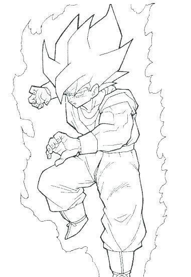 Wow Coloring Page Dragon Ball Z Goku 85 For Kids With Coloring Page Dragon Ball Z Goku Coloring Pages Dragon Ball Dragon Ball Z