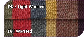 Dr Who Scarf Color Suggestions by Yarn Weight!!!! #Crochet #Free Color Scheme  http://www.doctorwhoscarf.com/s12.html  #TheCrochetLounge #DrWho #crochet #Collection