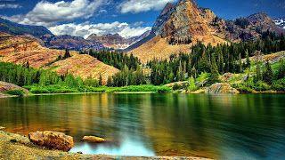 تنزيل احلى صور خلفيات روعة وجديدة وجميلة من أفضل الخلفيات بجودة Hd Beautiful Images Nature Mountain Lake Beautiful Mountains
