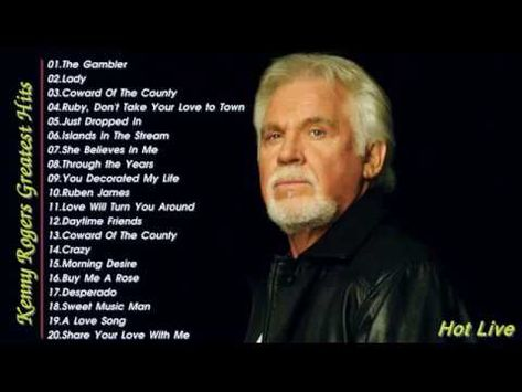The Best Songs Of Kenny Rogers Nonstop Playlist Kenny Rogers