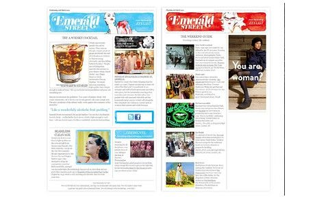 Newsletter template idea Internal Communications, Employee - company newsletter