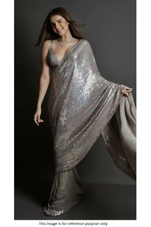 Buy Bollywood Tara Sutaria Inspired Light pink sequins saree in UK, USA and  Canada in 2020 | Party wear sarees, Blouse piece, Saree styles