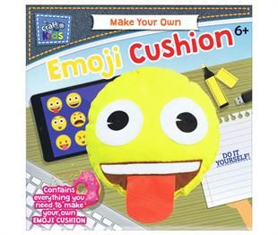 Make Your Own Emoji Cushion By Craft For Kids Emoji Cushions Project Kits Crafts For Kids