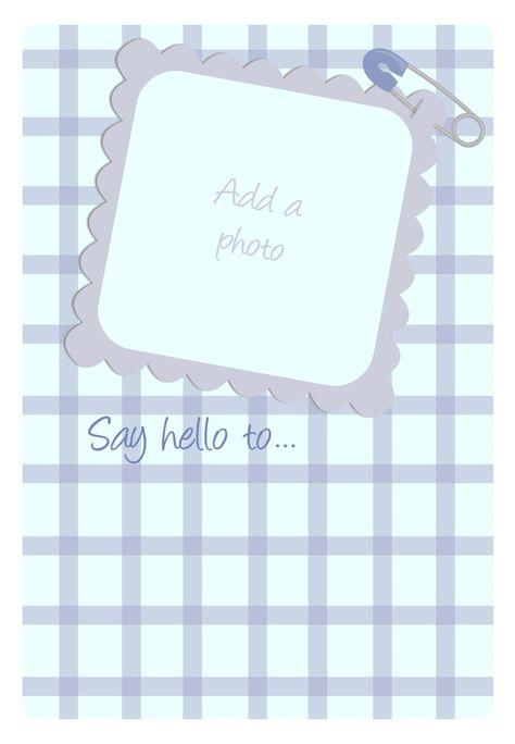 #Baby Shower Invitation - Free #Printables