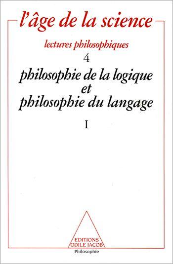 Philosophie De La Logique Et Philosophie Du Langage 1 Philosophie Langage Sciences Humaines