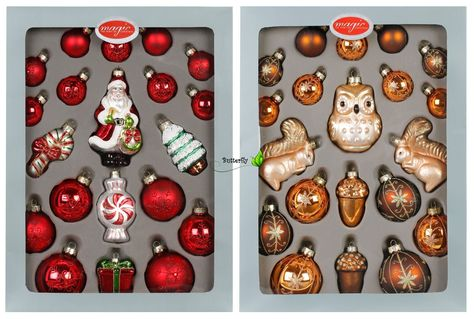 Christbaumkugel Weihnachtsschmuck Weihnachtskugel Fliegenpilz Glas Handarbeit
