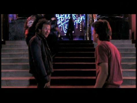 Dave runs into Marty outside Biff's casino