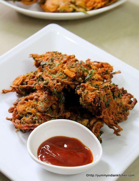 Methi Pakoda is a pakoda or fritters recipe made using methi leaves or fenugreek…