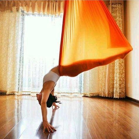 Anti Gravity Aerial Yoga Hammock 2 8 Meters Wide Stretch Stitching