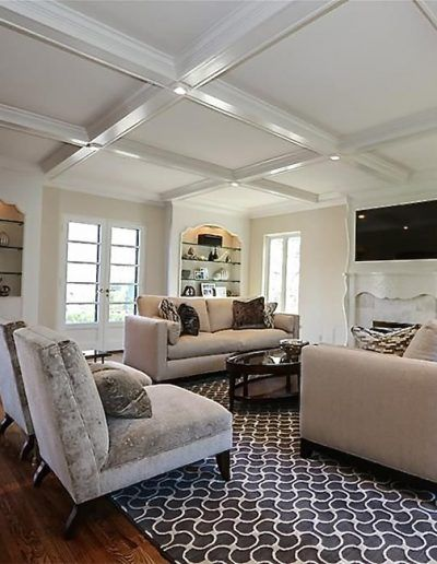 Living Room Interior By Anne Marie Weissend Design Associates