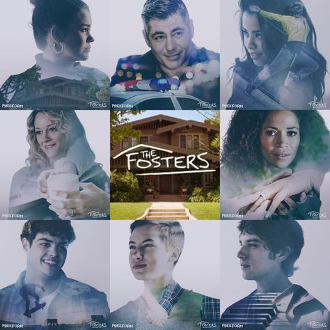 We ❤ the Adams-Fosters family! #TheFosters