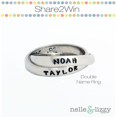 RE-PIN it to WIN it! Repin this picture to ENTER to WIN it for FREE! Winners will be selected every Monday! Check out our Facebook and Instagram contests for extra entries. Link to Facebook: www.facebook.com/... Link to Instagram: statigr.am/... Can't wait? By your ring at the link: www.nelleandlizzy...