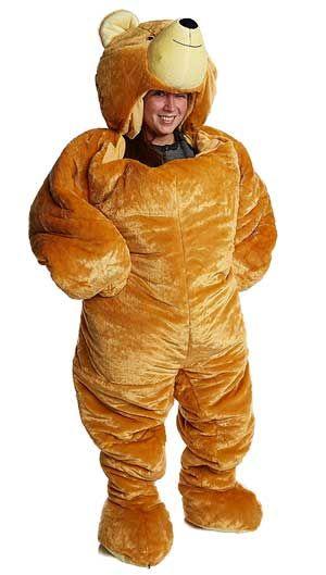 Bear Sleeping Bag Onesie That You Sleep In Or Use As A Giant Teddy